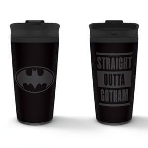 Batman (Straight Outta Gotham) Metal Travel Mug