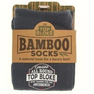 Top Bloke Personalised Bamboo Socks