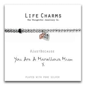 Life Charms Bracelet - Marvellous Mum