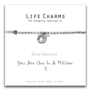 Life Charms Bracelet - One In A Million