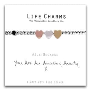 Life Charms Bracelet - Amazing Aunty