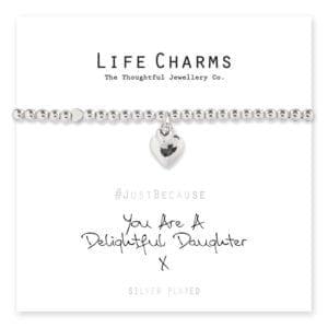 Life Charms Bracelet - Delightful Daughter