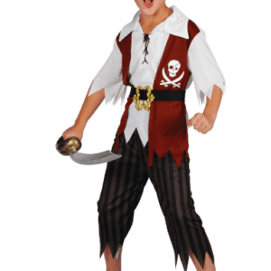 Cut Throat Pirate Kids Costume