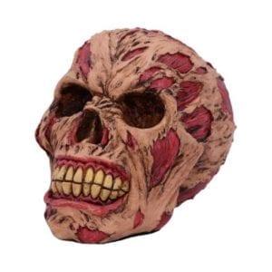 The Hoard Rotting Zombie Skull Ornament