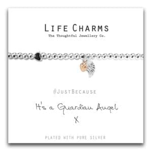 Guardian Angel Life Charms Bracelet