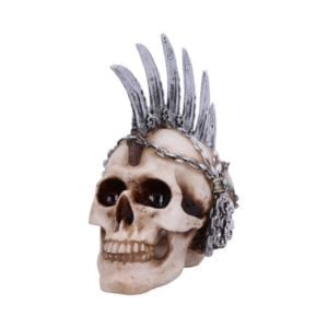 Chain Blade Mohican Mohawk Knife Skull Ornament