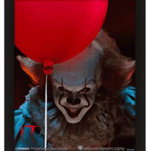 IT - Pennywise Evil Flip 3D Lenticular Poster Framed