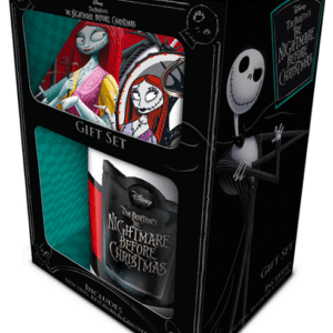 Nightmare Before Christmas (Jack & Sally) Mug, Coaster and Keychain Set