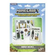 Minecraft Gadget Decals