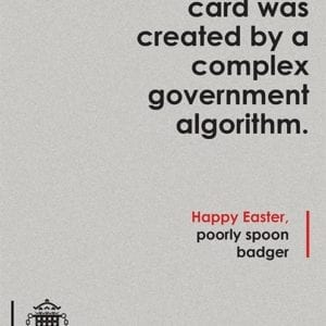 Birthday card algorithm