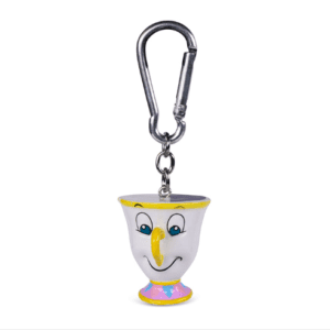 Beauty And The Beast (Chip) 3D Keychain