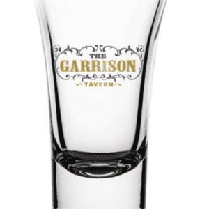 SHOT GLASS SET (WOODEN HOLDER) - PEAKY BLINDERS (GARRISON)