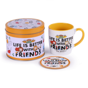 Friends (Life Is Better - Chibi) Mug & Coaster In Tin