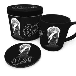 David Bowie (X-Ray) Mug & Coaster In Tin
