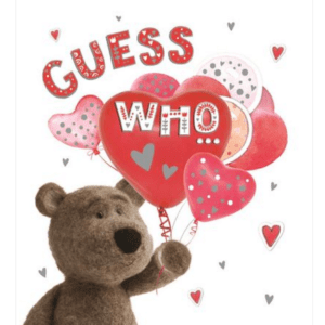 Valentines Card - Guess Who