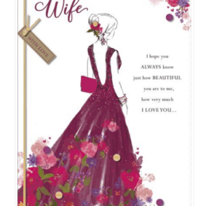 Valentines Card - Wife