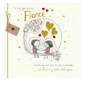 Valentines Card - Fiance