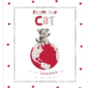 Valentines Card - From The Cat