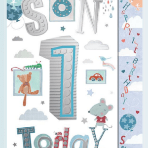 Son 1st Birthday Card