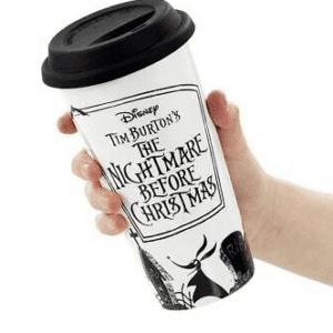 Nightmare Before Christmas Lidded Mug - Time to Share & Scare