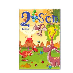 Son 2nd Birthday Card