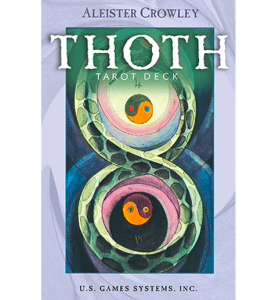 Aleister Crowley Thoth Tarot Deck- (Purple)