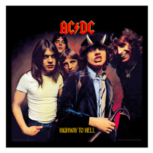 """AC/DC (Highway To Hell) 12"""" Album Cover Framed Print"""