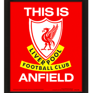 Liverpool FC (This Is Anfield) 3D Lenticular Poster