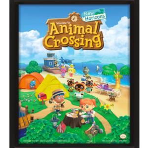 Animal Crossing (New Horizons) 3D Lenticular Poster