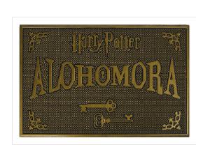 Harry Potter (Alohomora) Rubber Doormat