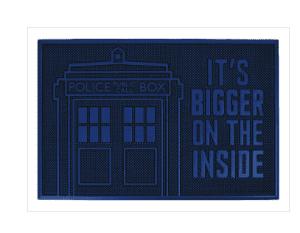 Doctor Who (TARDIS) Rubber Doormat