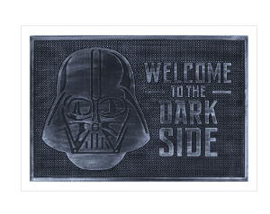 Star Wars (Welcome to the Dark Side) Rubber Doormat
