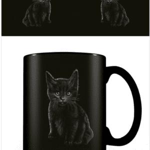 Spiral (Bat Cat) Heat Changing Mug