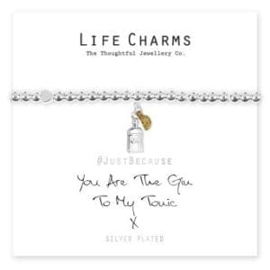 Gin To My Tonic! Life Charms Bracelet