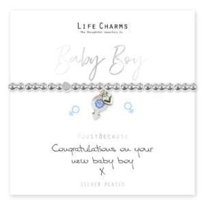 Baby Boy Life Charms Bracelet