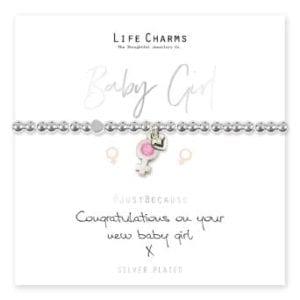 Baby Girl Life Charms Bracelet