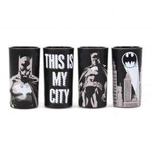 BATMAN (BATMAN POSES)-SET OF 4 SHOT GLASSES(100ML)
