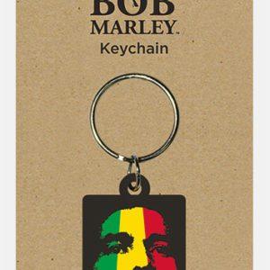 Bob Marley (Face) Rubber Keychain