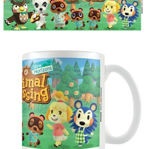 Animal Crossing (Line Up) Coffee Mug