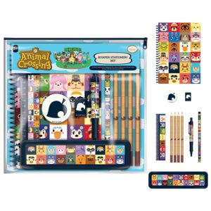 Animal Crossing (Villager Squares) Bumper Stationery Set