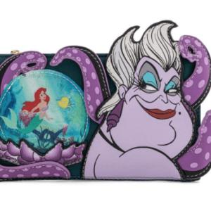 Loungefly Disney Villains Scene Ursula Crystal Ball Flap Wallet