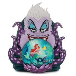 Loungefly Disney The Little Mermaid Ursula Crystal Ball Mini Backpack